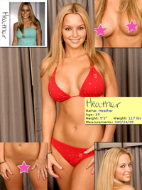 Heather from the Sacramento Playboy Casting Call